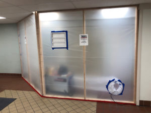 Water Damage Repair - Mold Containment